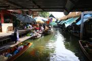バンコク都内の水上マーケットを巡る ① |  タリンチャン水上マーケット(Taling Chan Floating Market)のサムネイル