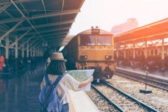ドンムアン空港からバンコク市内(バンコク市内からドンムアン空港)へのアクセス方法 20バーツの国鉄を使ってみようのサムネイル画像