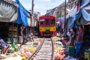 【プライベートツアー】メークロン市場&アンパワー水上マーケットを満喫!のサムネイル画像