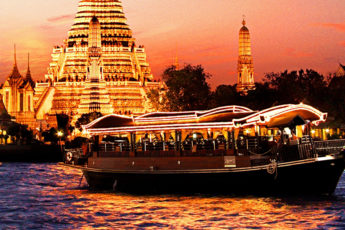 高級ホテル「バンヤンツリーバンコク」が贈る アプサラ ディナークルーズ Apsara Dinner Cruiseのツアー画像