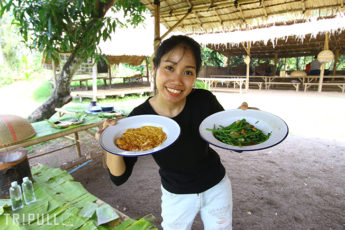 【昼食調理付き】バンコクから1時間で行けるオーガニックファーム見学ツアー  SAMPAN RIVERSIDEのサムネイル画像