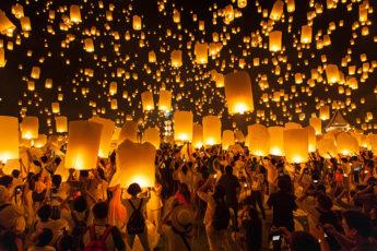 2018年 チェンマイのロイクラトン(イーペン祭り)開催日決定!のサムネイル画像