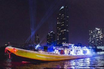 【格安】680バーツで飲み放題!チャオプラヤーナイトクルーズ|Yodsiam Boatのサムネイル画像