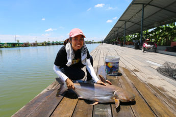 巨大魚を釣り上げよう!バンコク近郊の釣り堀『NoomFish456』のサムネイル画像