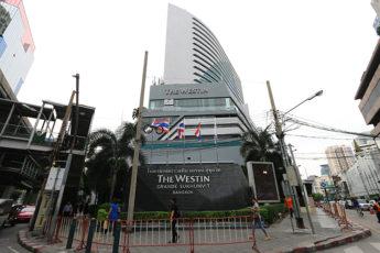 The Westin Grande Sukhumvit Bangkokの1階ロビーの周辺画像